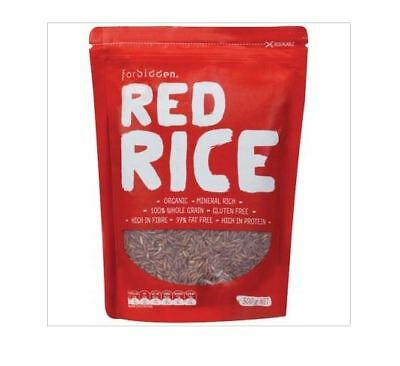 5 x 500g FORBIDDEN High Protein 97% Fat Free RED RICE  Total 2.5kg