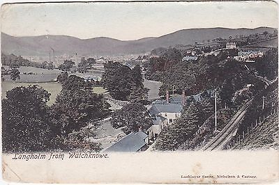 View From Watchknowe, LANGHOLM, Dumfriesshire