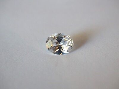 Loose Cubic Zirconia White AAA Oval 10mm x 8mm - Brand New! Bargain Price!