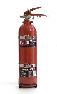 Rally/Race 2.25Ltr clubman Mechanical Fire Extinguisher System AFFF MSA Approved