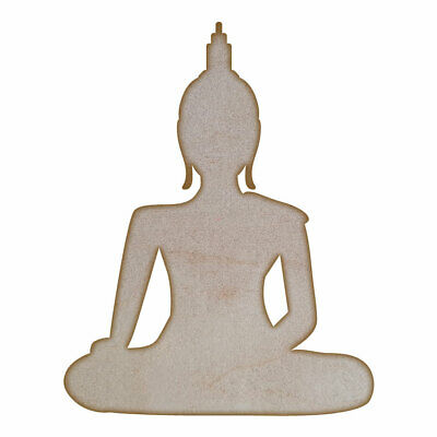 Buddha -MDF Laser Cut Craft Blanks in Various Sizes
