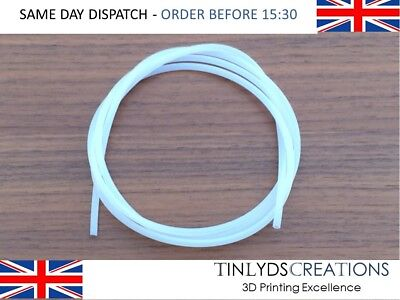 PTFE Tube ID 2mm OD 3mm for MK7 / MK8 Extruders 1.75 Filament 3D Printer Part