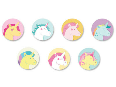 Lot Badge Button Pins Patch Ø38mm Licorne Unicorne Unicorn Kawaii
