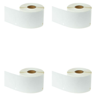 "4 Rolls of 300 Labels 2 5/16"" x 4"" Compatible for DYMO LabelWriter 30256 450 315"