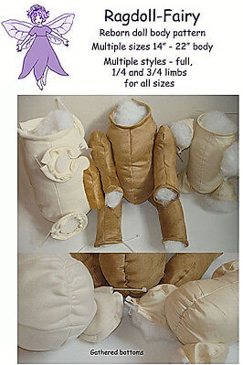 REBORN DOLL sewing patterns. Make your own reborn doll body, outfits & pacifiers