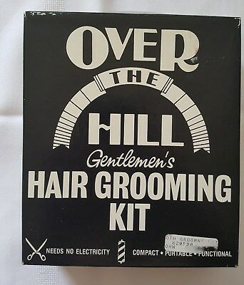 Over The Hill Hair Grooming Kit ***No Electricity Required*** NOS