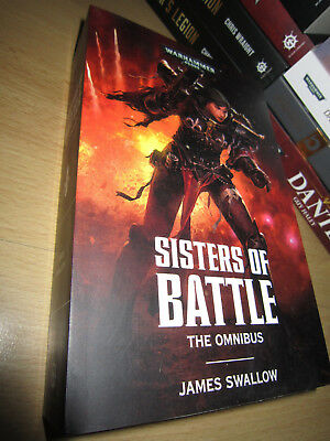 James Swallow SISTERS OF BATTLE: The Omnibus 1st/Pb MINT Warhammer 40K