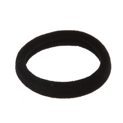 Beautiful 30  Black Stretch Rubber Hair Band Ponytail Holder Bands for Wome N5B9