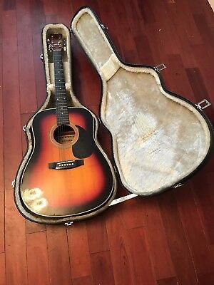 Hohner Mw-400Sr Acoustic Guitar Complete With Case Leyanda Line 6 Six String