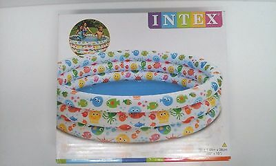 Three Ring Childs Paddling/Swimming Pool - by Intex - New in Box