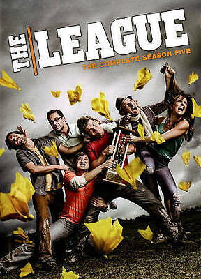 The League: The Complete Fifth Season Five 5 (DVD, 2014, 2-Disc Set) - NEW!!