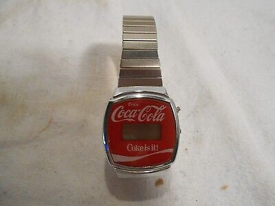Collectible Coca Cola Watch NON working