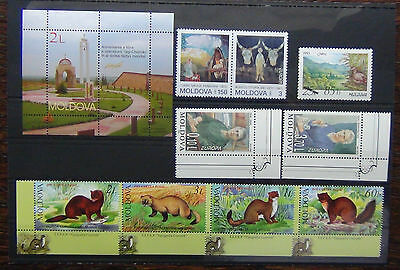 Moldova 1993 1996 Europa sets 2004 Battle Miniature Sheet MNH