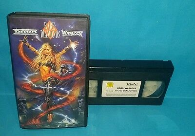 DORO WARLOCK Rare Diamonds 1991 VHS