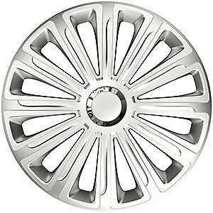 """4X 15"""" Inch Trend Rc Wheel Trims Cover Hub Caps For Ford Tourneo Connect 13-On"""