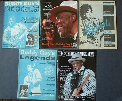 Buddy Guy Blueletter 5 Pcs.allison Koko Taylor Montoya 1994 1995 1197 2016 2017