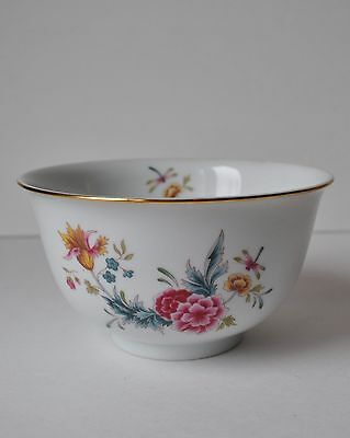 1981 Avon American Heirloom Independence Day Porcelain Bowl Dragonfly Flowers