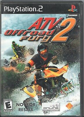 Video Game - SONY PLAYSTATION 2 - ATV OFFROAD FURY 2 - Game w/ Case
