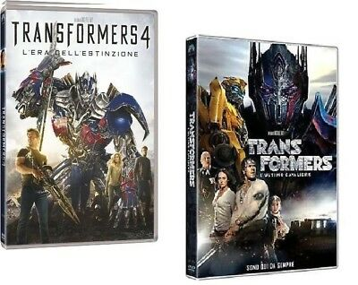 Dvd Transformers 4 - Transformers: L'Ultimo Cavaliere - (2 DVD) ....NUOVO
