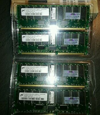 2Gb SDRAM Kit (4x512) pc 1600r ECC REG 202171-B21 memoria DDR SDRAM
