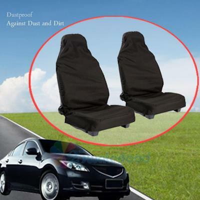 2x Car Seat Front Protector Cover Dust Proof Waterproof Protect Covers Universal