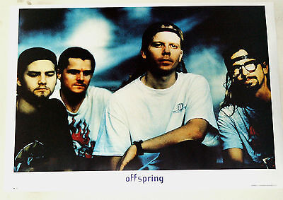 Offspring Group Poster  Rare!  25 By 35.5 Inches