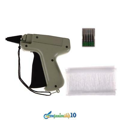 "Garment Clothing Price Label Tag Tagging Tagger Gun with 1000 3"" Barbs 5 Needles"