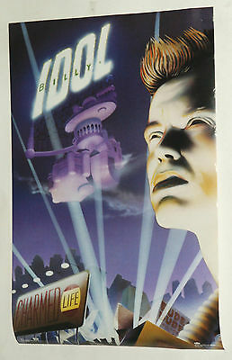 Billy Idol Charmed Life Poster