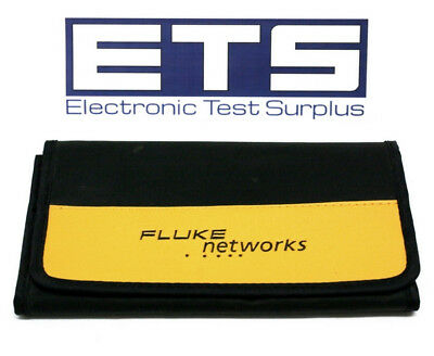 "Fluke Networks Fold Out Accessory Case 8""x4"" Used"