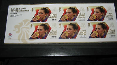 olympic stamps LONDON 2012 LAURA TROTT MINT