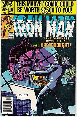 Iron Man #138 (Sep 1980, Marvel) Dreadnought