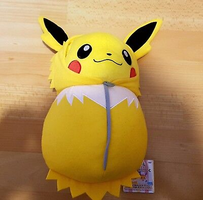 Peluche Pokémon NEUVE Pikachu Voltali Nebukuro collection
