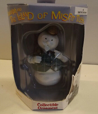 Enesco Collectible Ornament 'The Island of Misfit Toys' Sam The Snowman NIP