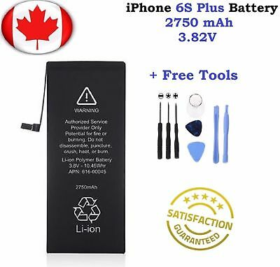 Brand New Replacement For iPhone 6S Plus  Battery 2750 mAh With Free Tools