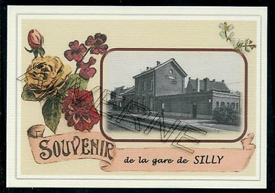 SILLY     ..gare souvenir  creation moderne serie limitee numerotee