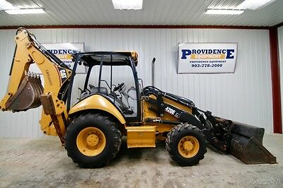 "Caterpillar 420E It 4Wd Backhoe Loader, 93 Hp, 14'3"" Dig Depth, Pallet Forks!"