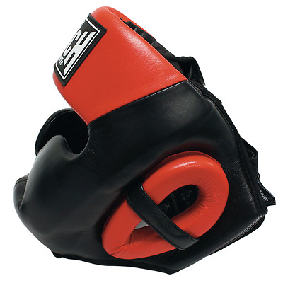 NEWPunch Head Gear - Full Face Boxing Headguard Head Protection MMA Kickboxing