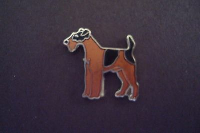 LAKELAND TERRIER Dog   Hat Pin Lapel  Pin Tie Tac