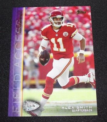 2015 Topps Field Access ALEX SMITH #154 Purple Variant/25 Kansas City CHIEFS