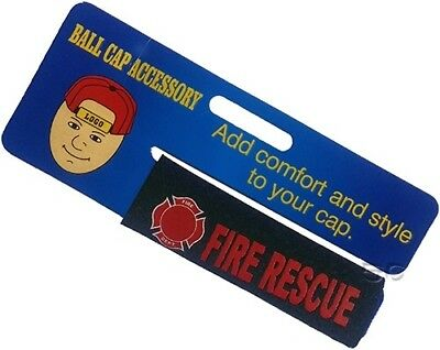 Firefighter Fire Rescue Baseball Cap Strap Cover for Comfort and Style Maltese