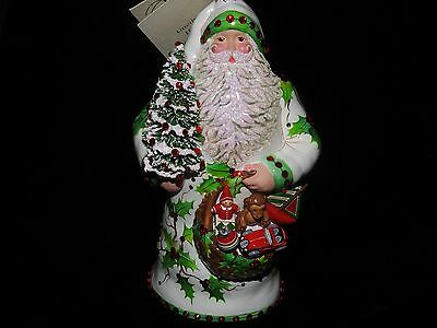 Patricia Breen Exclusive Jeweled Holly Jubilee Santa