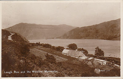Lough Dan & Farm, Nr GLENDALOUGH, County Wicklow, Ireland RP