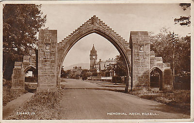 Memorial Arch, EDZELL, Angus RP