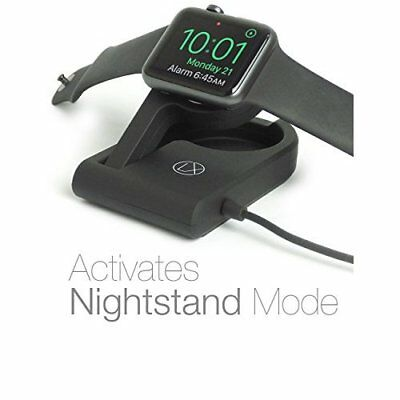 Best Apple Watch Charger Wireless Portable Magnetic Charging Stand w/ USB Cable