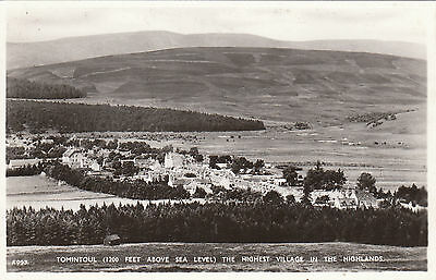 General View, TOMINTOUL, Banffshire RP