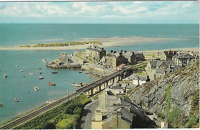 The Harbour & Island, BARMOUTH, Merionethshire