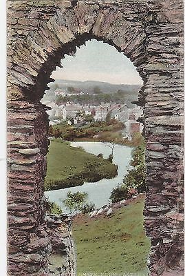 View From Castle Doorway, NEWCASTLE EMLYN, Carmarthenshire