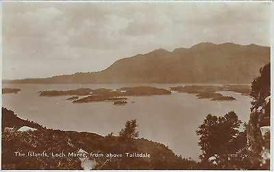 The Islands From Above Talladale, LOCH MAREE, Ross-shire RP