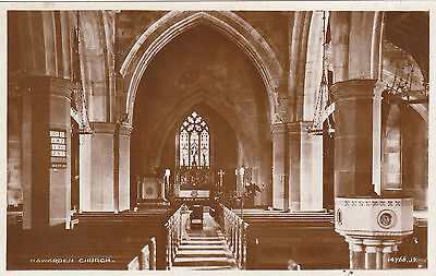 Church Interior, HAWARDEN, Flintshire RP
