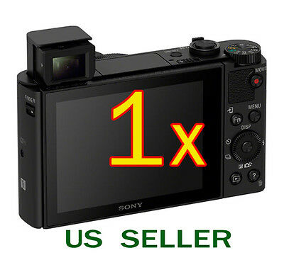 1x Clear LCD Screen Protector Guard Film For Sony CyberShot DSC-HX90V Camera